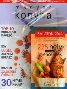 Magyar konyha 38. évf. 7-8. sz. 2014. július-augusztus