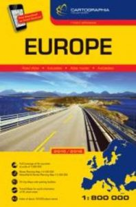 Europe Road Atlas SC 2015/2016