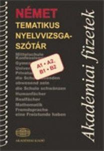 Német tematikus nyelvvizsgaszótár