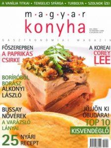 Magyar konyha 39. évf. 6. sz. 2015. Június