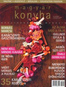 Magyar konyha 39. évf. 12. szám December
