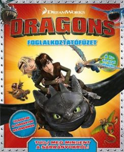 Dragons - foglalkoztatófüzet