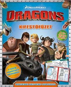 Dragons - kifestőfüzet
