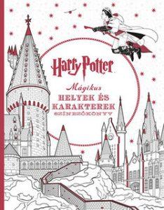 Harry Potter - Mágikus helyek színezőkönyv