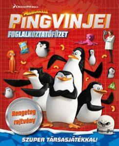 A Madagaszkár pingvinjei - Foglalkoztatófüzet