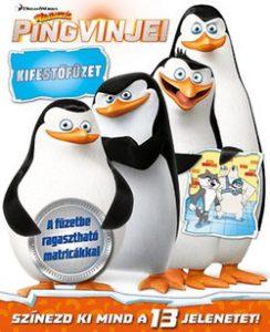A Madagaszkár pingvinjei - kifestőfüzet