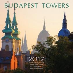 Budapest towers naptár 2017