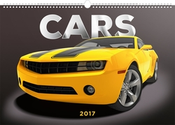 Cars naptár 2017 - 48x33 cm
