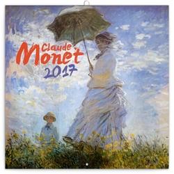 Claude Monet lemeznaptár 2017
