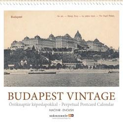 Budapest vintage - öröknaptár képeslapokkal