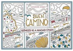 Buen Camino - színezd ki a magad újtát!