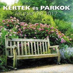 Kertek és Parkok falinaptár 2017