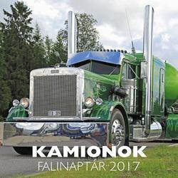 Kamionok falinaptár 2017