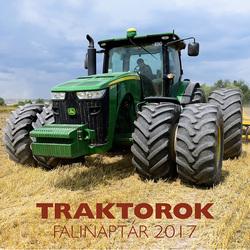 Traktorok falinaptár 2017