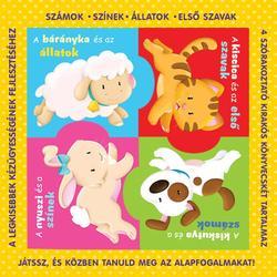 Állatok puzzle könyv