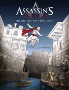 Assassin's Creed hivatalos színező