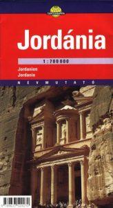 Jordánia térkép (1:700 000)