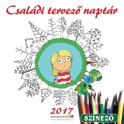 Családi tervező naptár 2017