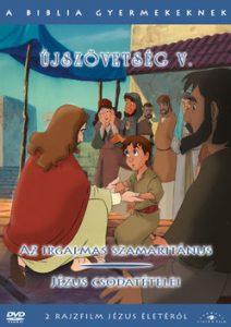 A Biblia gyermekeknek - Újszövetség V. DVD