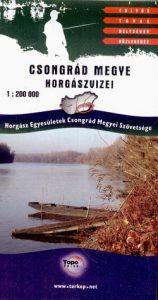 Csongrád megye horgászvizei 1: 200 000