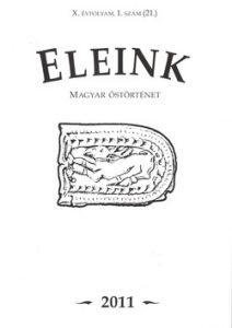 Eleink X. évfolyam, 1. szám (21.)