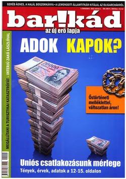 Barikád 4. évfolyam 9. 2012. március 1.
