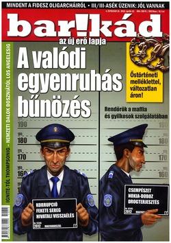Barikád 4. évfolyam 15. 2012. április 12.