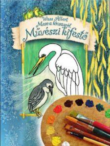 Mese a kócsagról - művészi kifestő