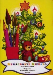 Karácsonyi kifestő gyermekeknek