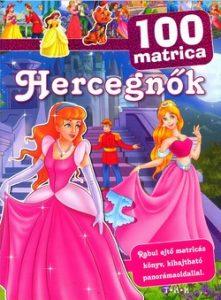 100 matrica - Hercegnők