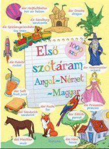 Első szótáram - angol-német-magyar