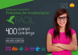 400 spanyol szókártya - Haladó szinten