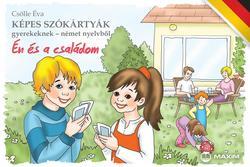 Képes szókártyák gyerekeknek német - Én és a családom