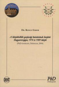 A közművelődés gazdasági kutatásának kezdetei Magyarországon, 1974 és 1989 között