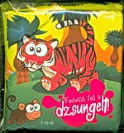 Fedezd fel a dzsungelt! textilkönyv