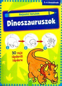 Rajzolni tanulok - Dinoszauruszok