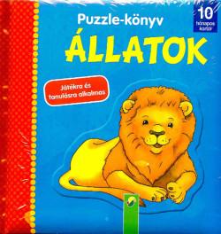 Puzzle - könyv - Állatok