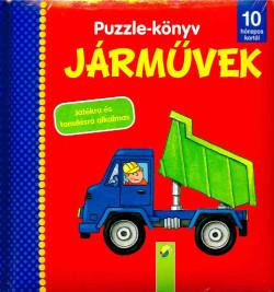 Puzzle - könyv - Járművek