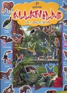 A színes állatvilág matricáskönyve