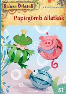 Papírgömb állatkák - Színes ötletek 51.