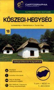 Kőszegi-hegység turistatérkép SC 1:40000