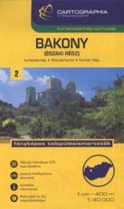 Bakony(északi rész) turistatérkép 1:40 000 SC