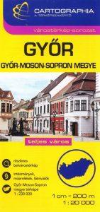 Győr várostérkép SC (1:20 000)