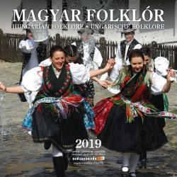 Magyar folklór 2019 naptár