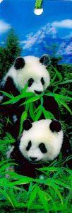 3D Könyvjelző - Panda