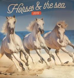 Falinaptár (lemez) - Horses & the sea 2019