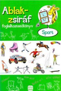 Ablak-zsiráf foglakoztatókönyv - Sport