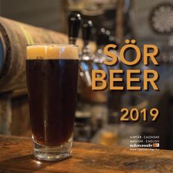 Sör - Beer Naptár 2019