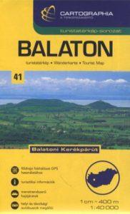 Balaton turistatérkép 1:40 000 SC