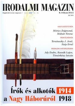 Irodalmi Magazin 2014/2 nyár
